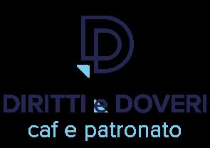 Logo CAF e Patronato Diritti e Doveri